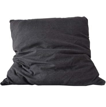 Large Grey Cotton Cushion available for Sydney hire
