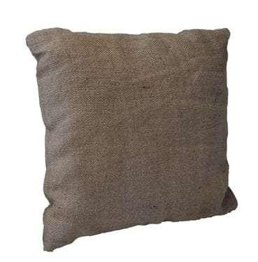 Hessian Cushion available for Sydney hire
