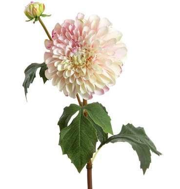 Artificial pink dahlia