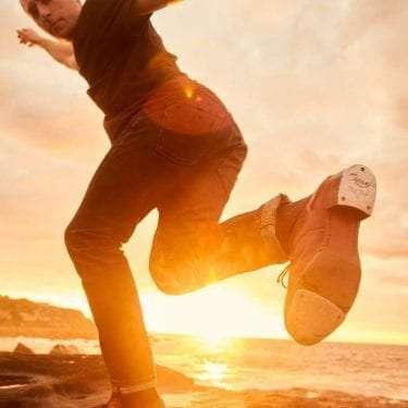 Thomas Jegan Tap Dancer hero shot.