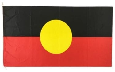 Aboriginal Flag available for Sydney hire.