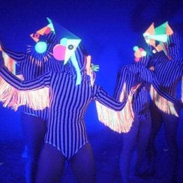 Image of Picasso Ravers during performance.