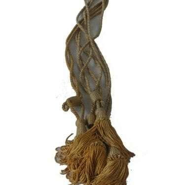 Long Gold Tassel Stock Image