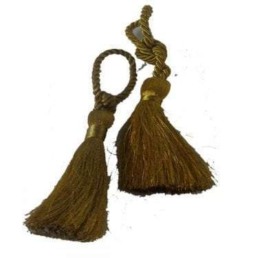 Short Gold Tassel available for Sydney hire.