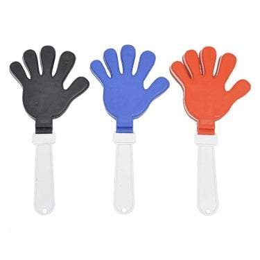Hand Clappers available for Sydney hire.